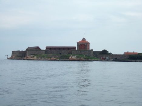 Fortress Ålvsborg outside Gothenburg, Sweden